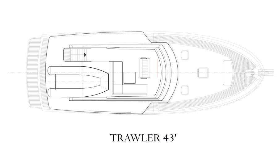 PLAN RHEA 43 TRAWLER