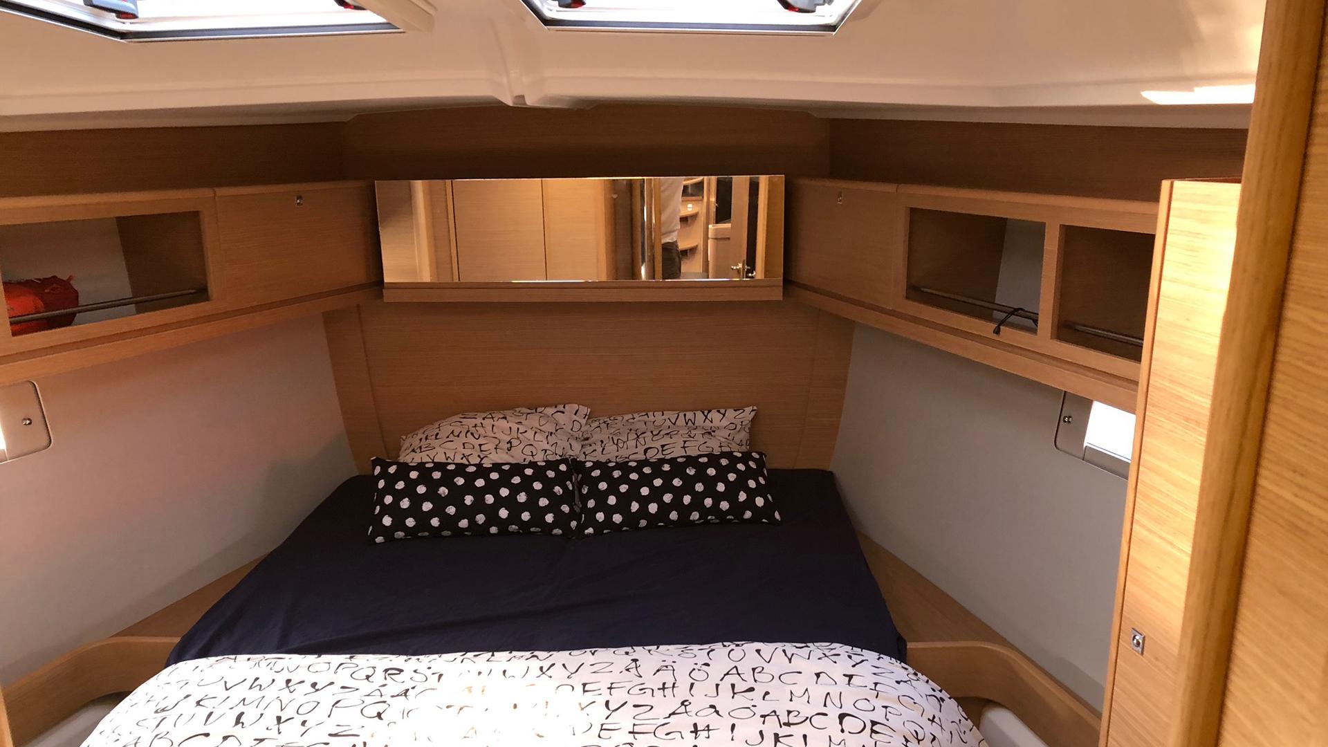 location d'un voilier Dufour 460