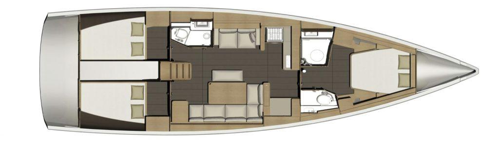 location d'un voilier Dufour 460 Grand Large