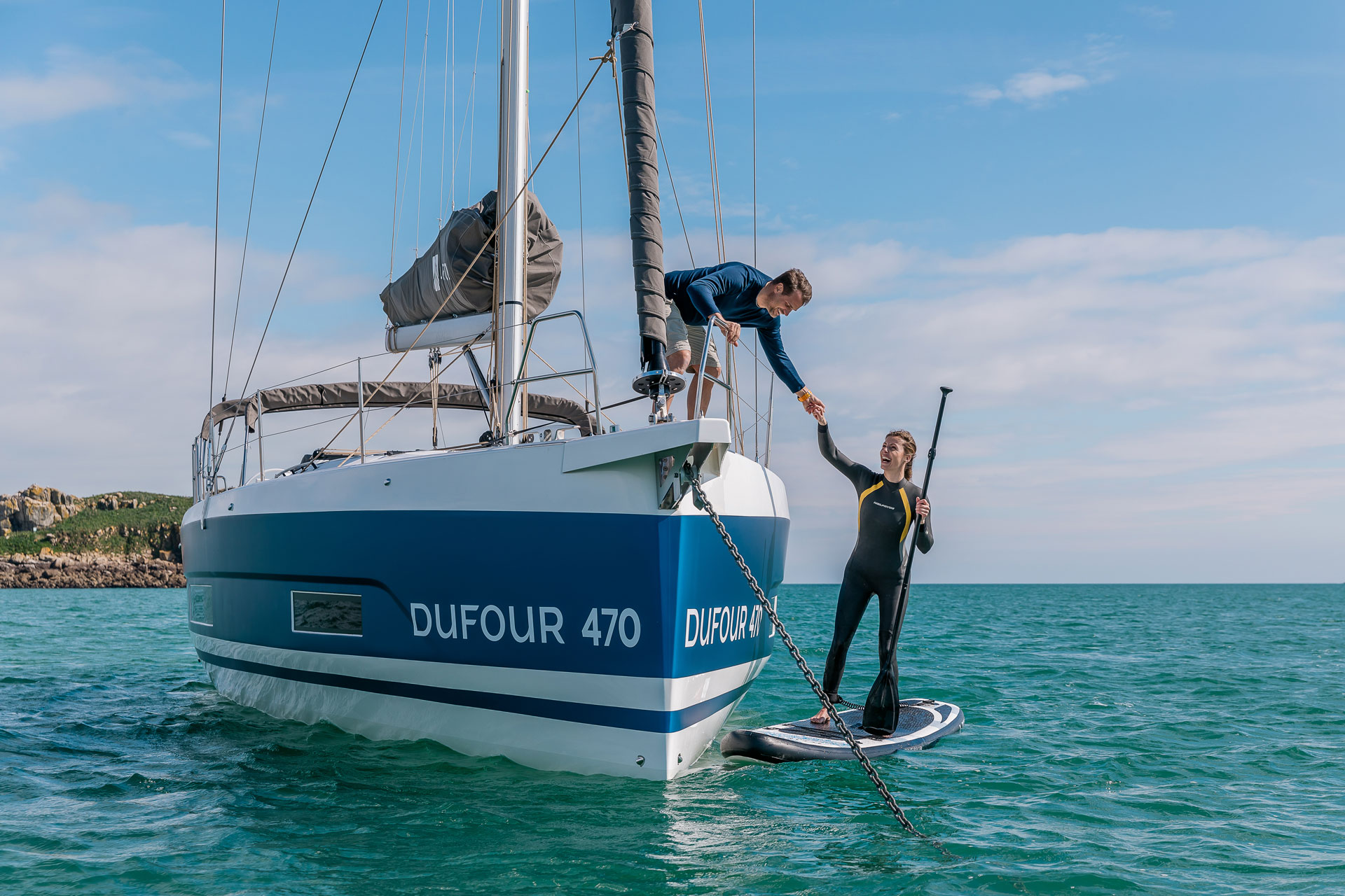 Voilier neuf DUFOUR 470